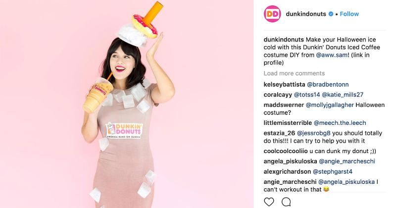 dunkin donuts costume