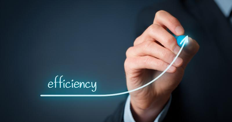 efficiency increase