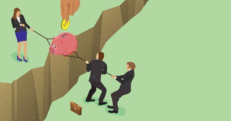 fighting money business