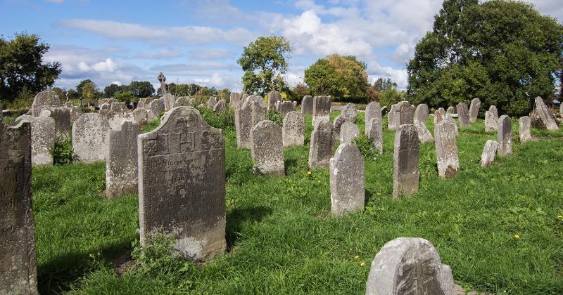 graveyard stones