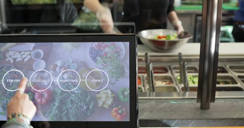 honeygrow touch screen