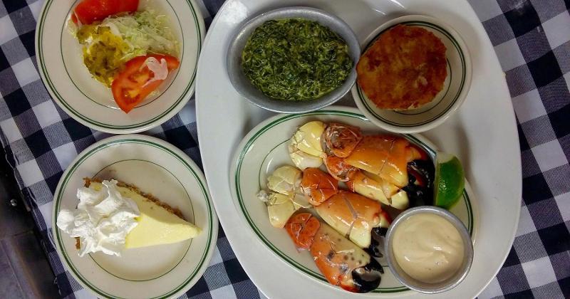 joes stone crab food