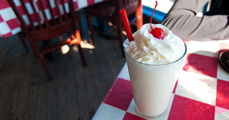 milkshake table