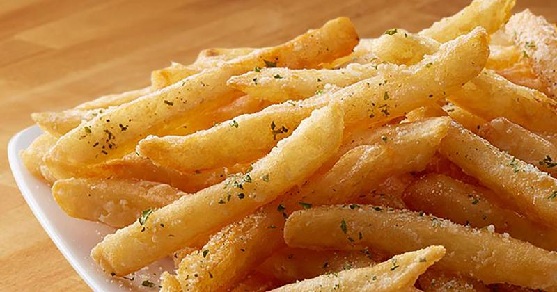 papa gino's garlic seasoned fries
