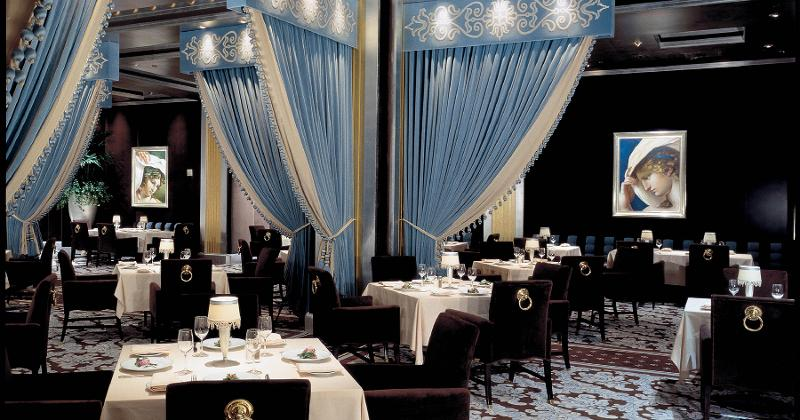 prime steakhouse dining room
