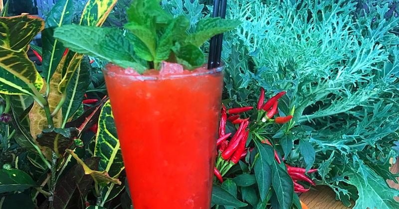 red pepper drink