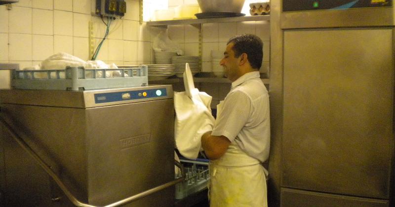 restaurant dishwasher