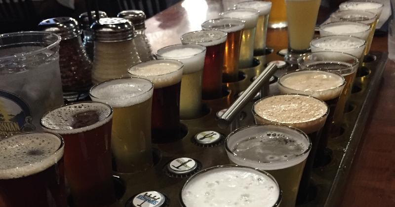 russian river beer sampler
