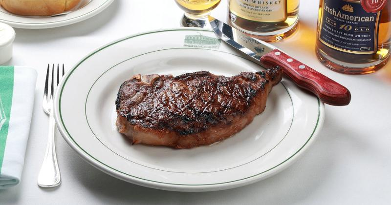 smith wollensky steak whiskey