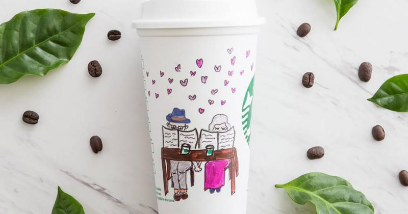 starbucks love cup