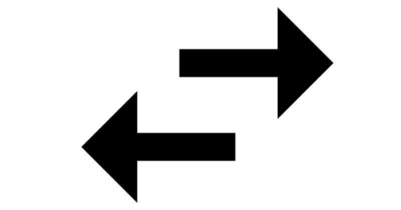 swap arrows