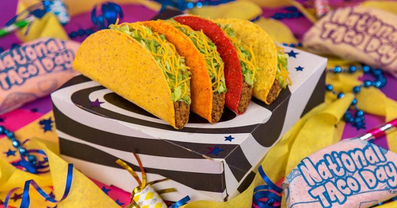 taco bell box