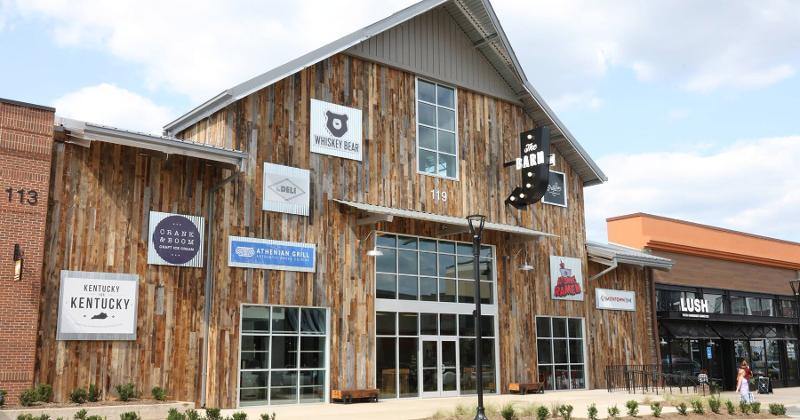 the barn food hall