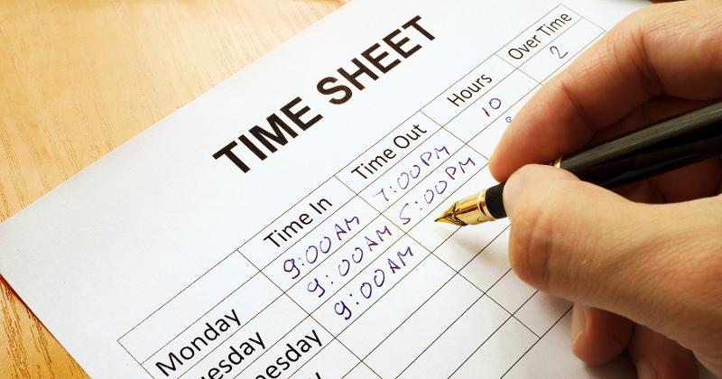 timesheet hours schedule