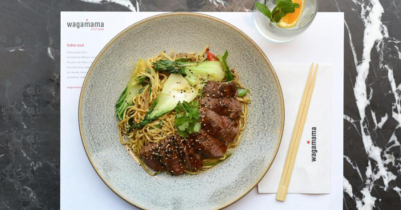 wagamama branded bowl