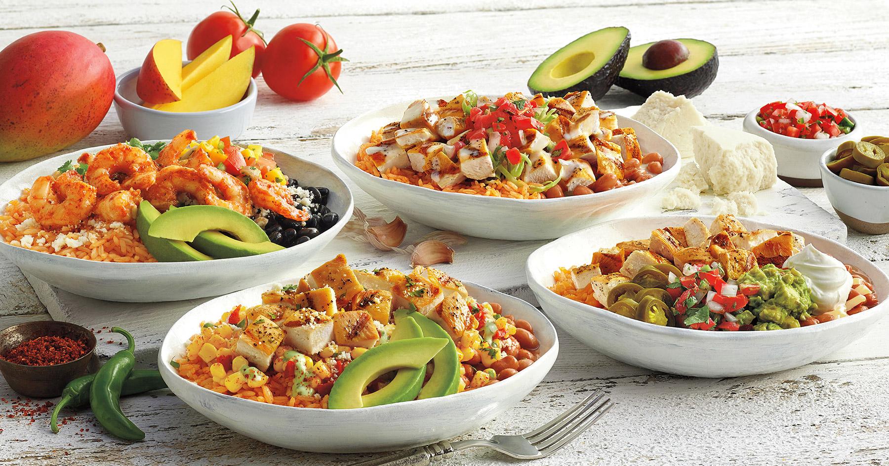 El Pollo Loco adds 4 new handcrafted bowls