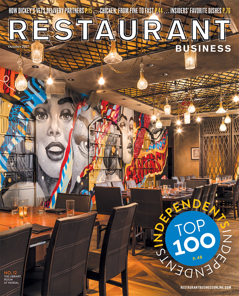 Restaurant Business Magazine October 2017 Issue
