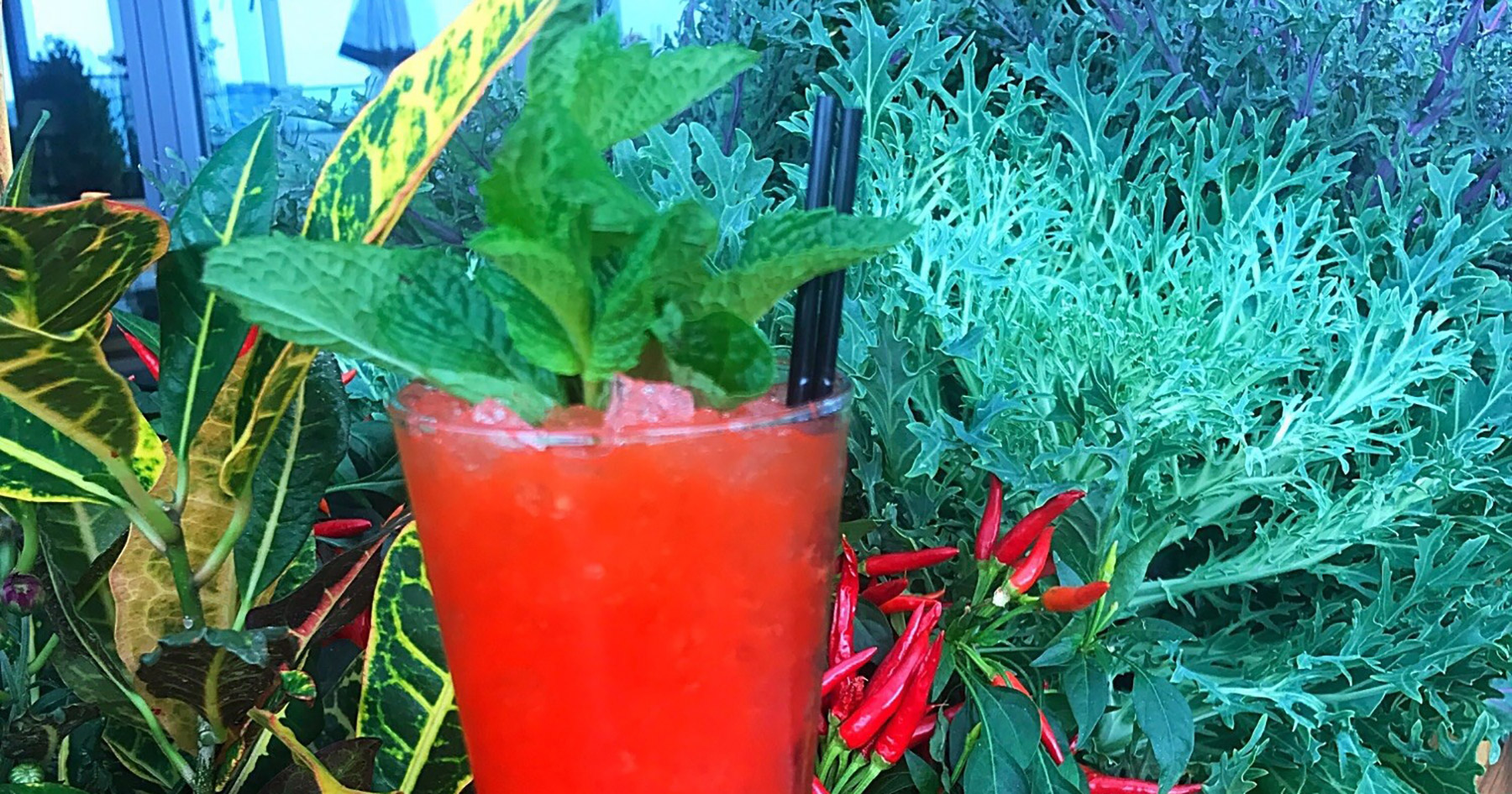 red pepper mocktail