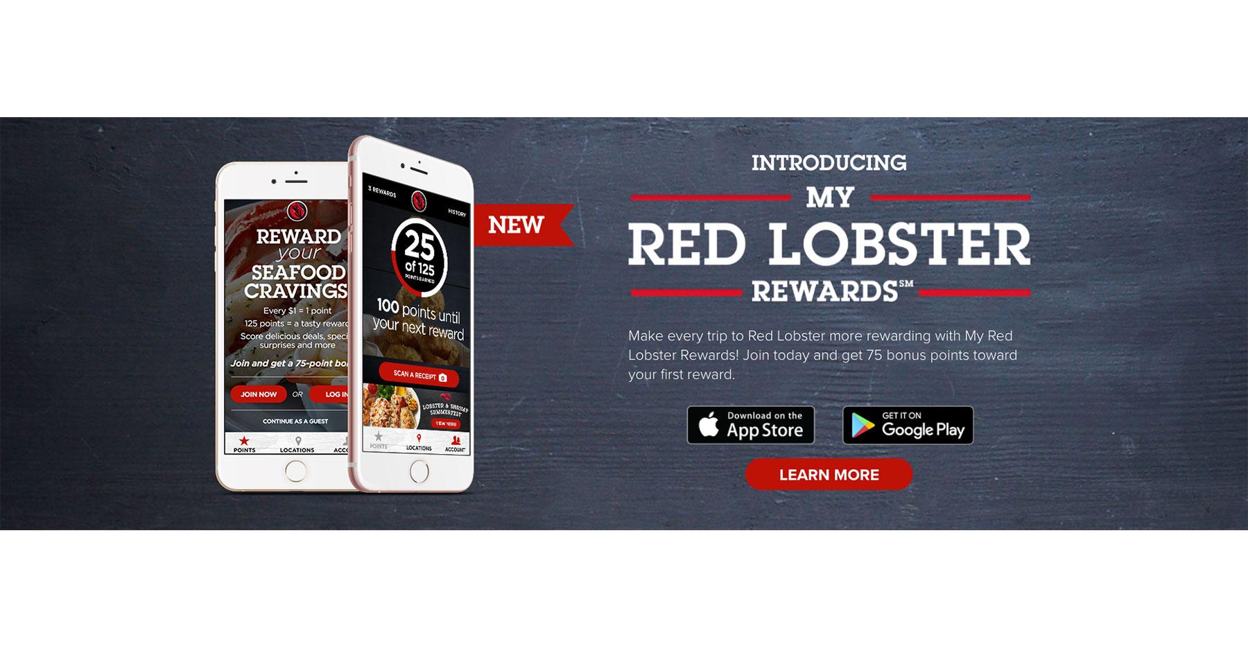 Red Lobster Debuts Mobile Loyalty Program
