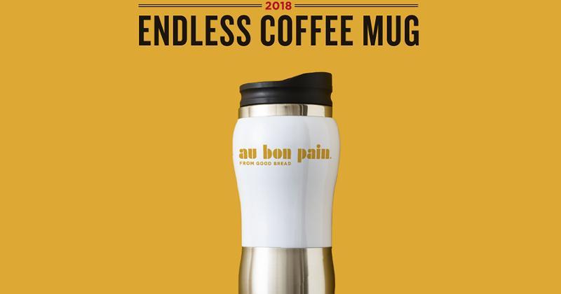 au bon pain coffee mug