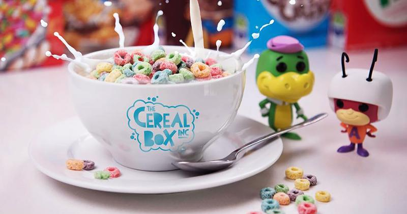 cereal box bowl