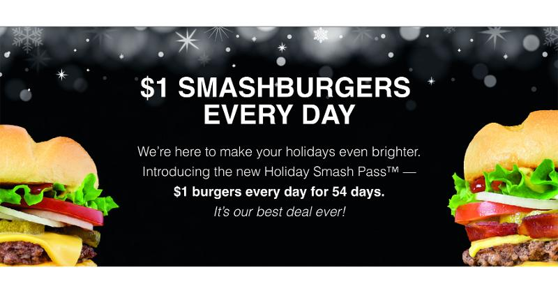 smashburger holiday smash pass
