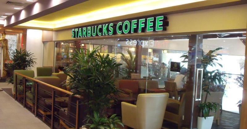 starbucks coffee interior