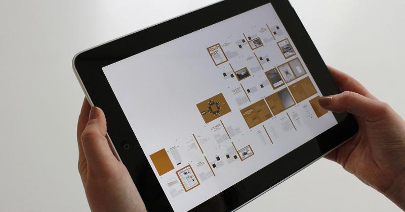 tablet hands