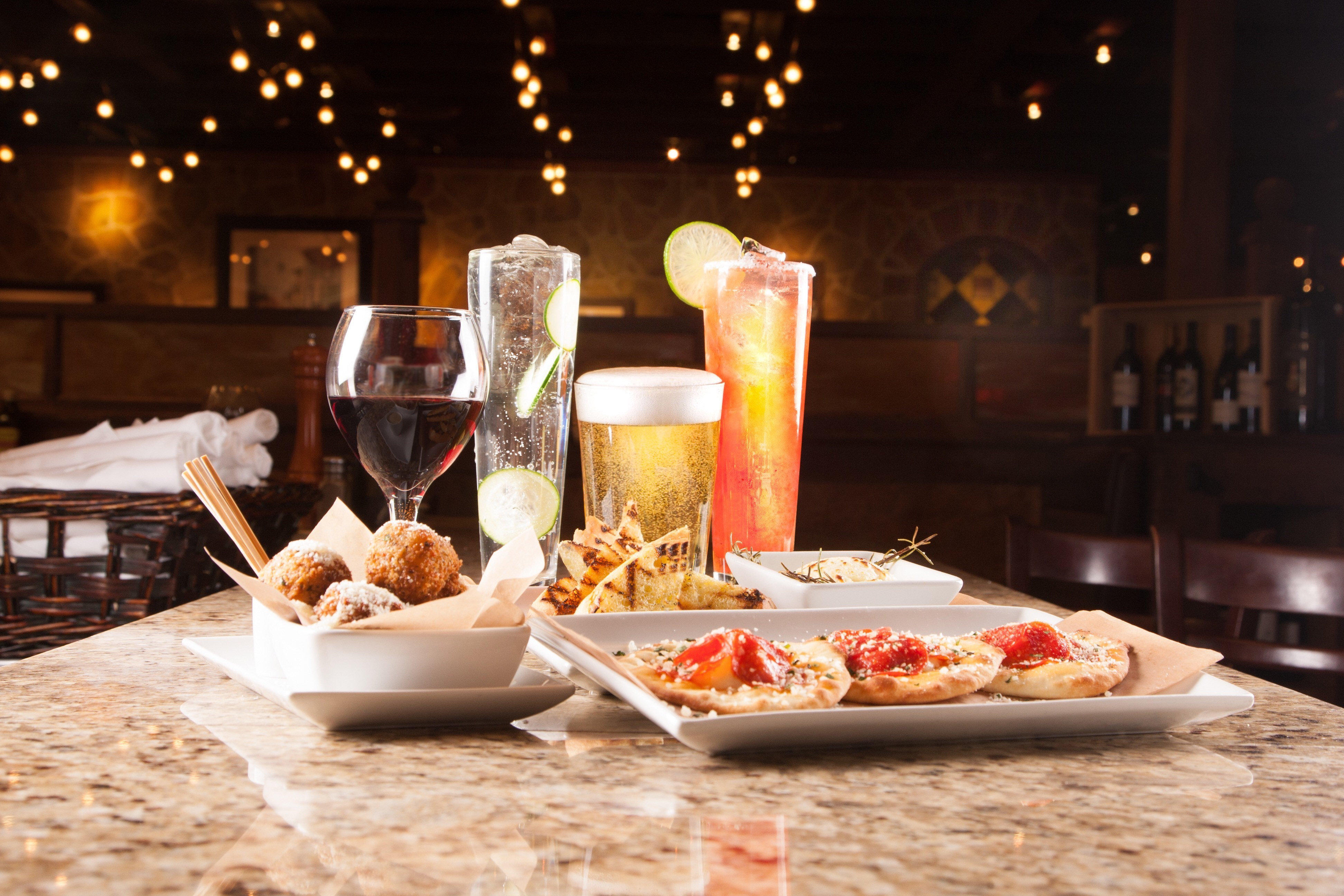 romano u0026 39 s macaroni grill launches new happy hour menu