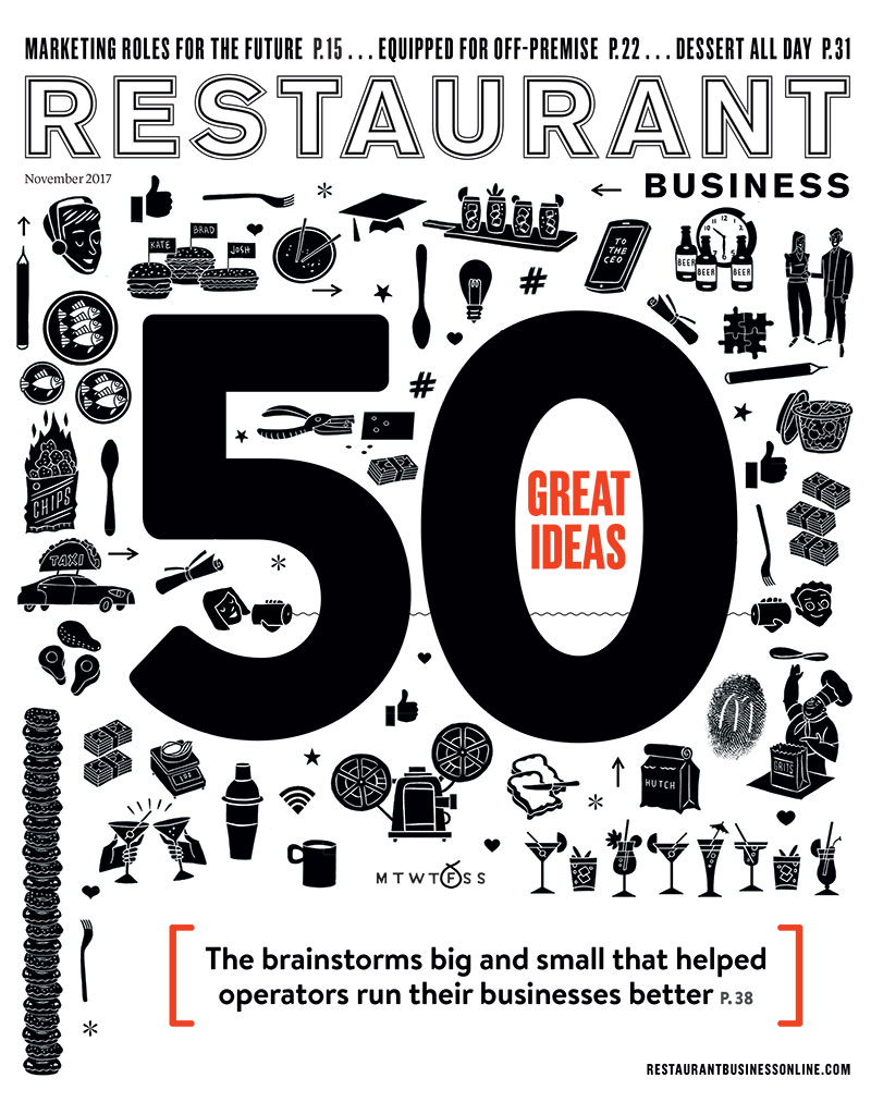Restaurant Business Magazine November 2017 Issue