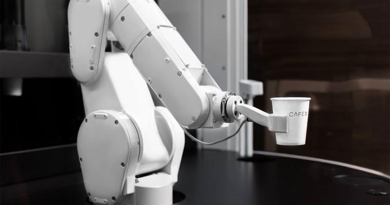 Cafe x robot