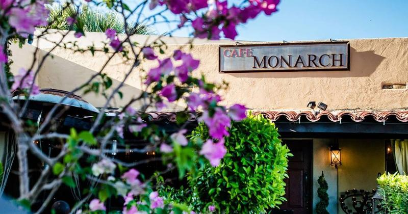 cafe monarch exterior