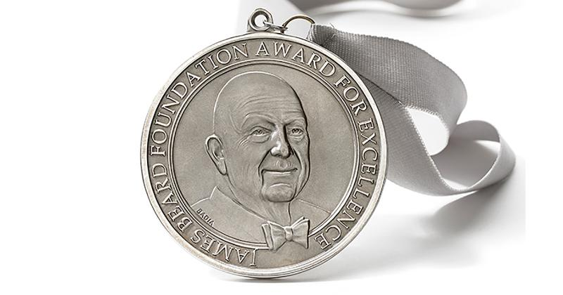 james beard award medallion