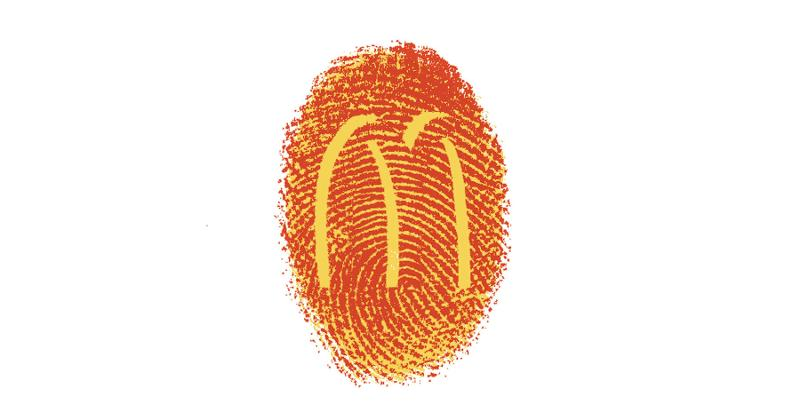 mcdonalds fingerprint