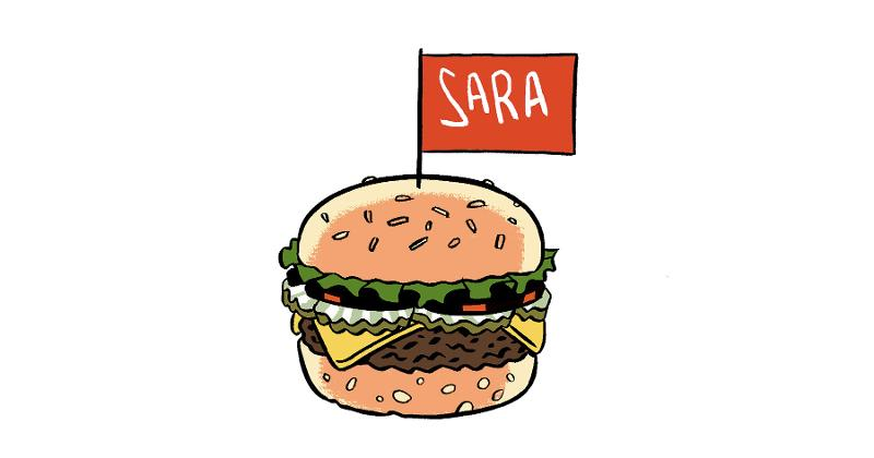 personalized burger