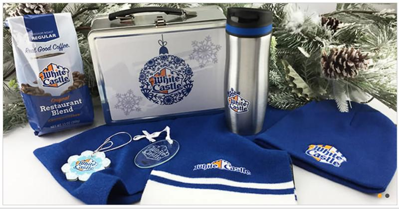 white castle merchandise