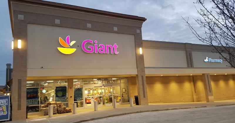 giant storefront