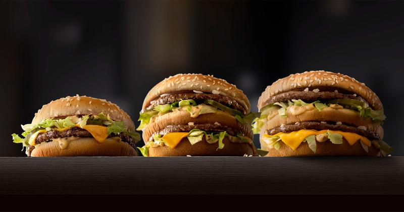 McDonald's Beef Patties