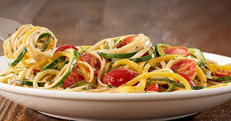 olive garden spiralized veggie pasta