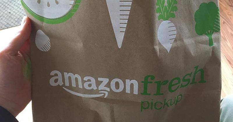 amazon pickup bag