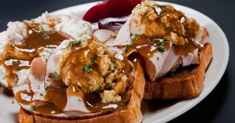 glory days grill open faced turkey sandwich