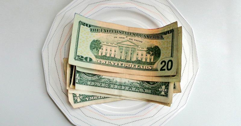 money plate