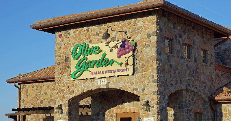 olive garden exterior - Olive Garden Los Angeles