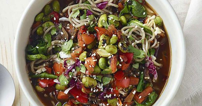 panera soba noodle broth bowl