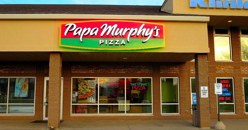 papa murphys pizza exterior