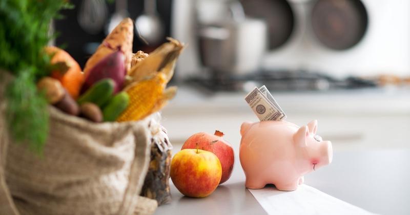 produce money piggy bank