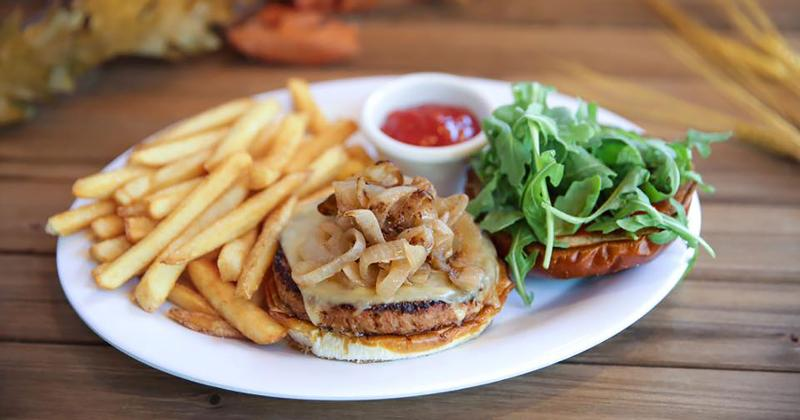 veggie grill burger