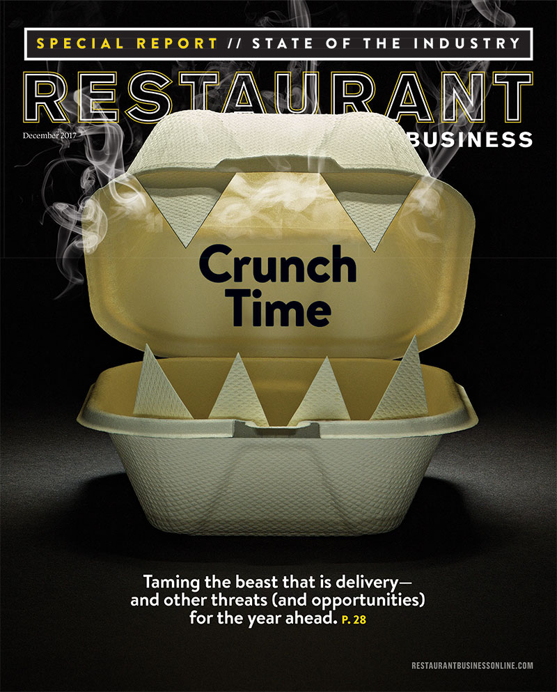Restaurant Business Magazine December 2017 Issue