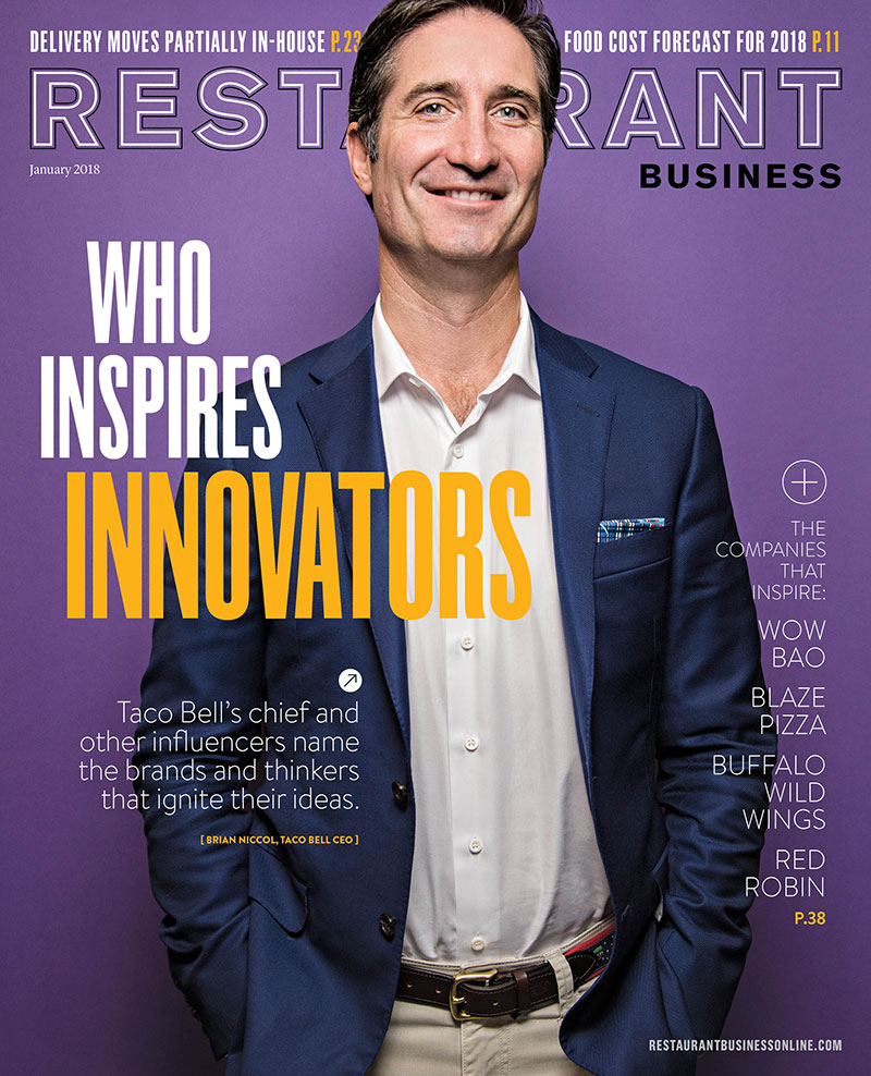 Restaurant Business Magazine January 2018 Issue