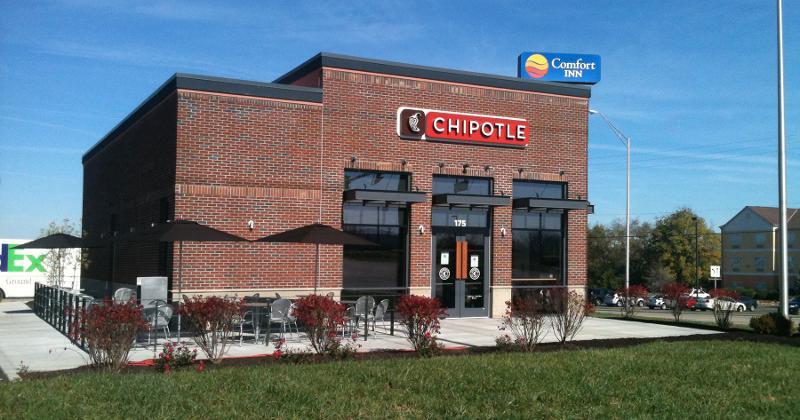 chipotle brick exterior